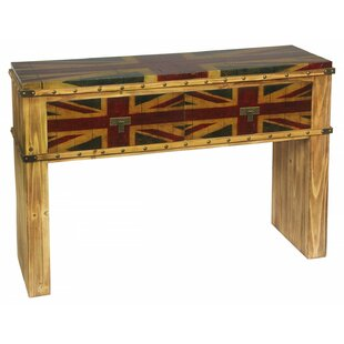 Whitby Union Jack Console Table By Williston Forge