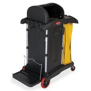 High Security Cleaning Utility Cart by Rubbermaid Commercial Products