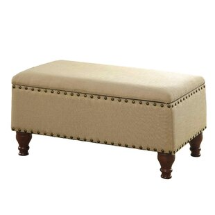 Oakford Upholstered Storage Bench by Alcott Hill Comparison