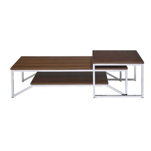 Bernhard 2 Piece Coffee Table Set by Brayden Studio