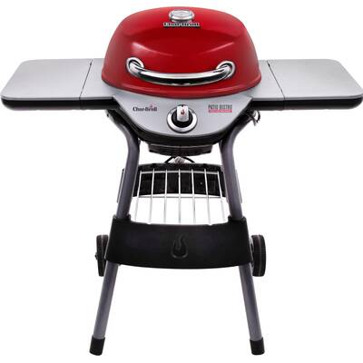 40 Patio Bistro Tru Infrared Portable Electric Grill With Side Shelves By Char Broil