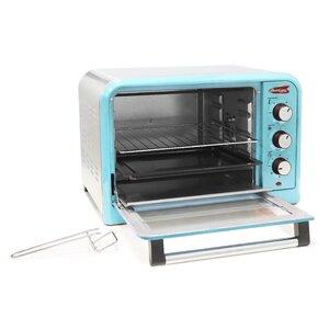 0.91 Cu. Ft. 6-Slice Retro Toaster Oven