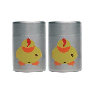 Children's Line Sheriff Duck Mini Salt and Pepper (Set of 2)