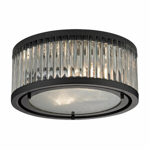 Linden 2-Light Flush Mount