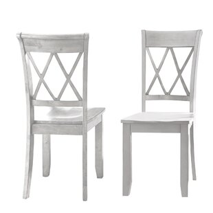Darby Home Co Dauberville Solid Wood Dining Chair (Set of 2)