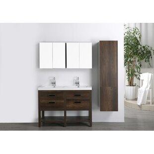 47 Double Bathroom Vanity Set with Mirror