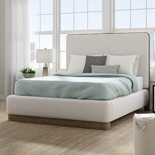 Mcchesney Upholstered Platform Bed by Wrought Studio