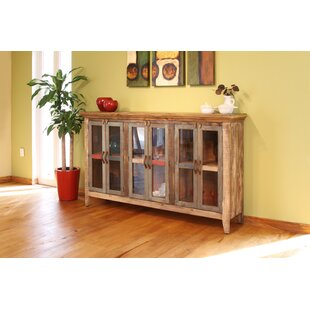 Strecker 6 Glass Door Sideboard Millwood Pines