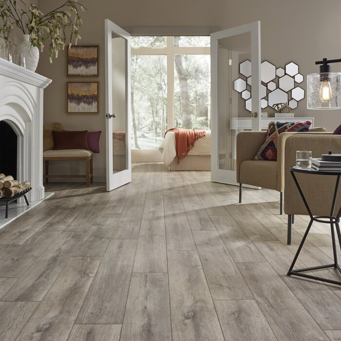 Revolution Wide Plank 8 X 51 12mm Oak Laminate Flooring
