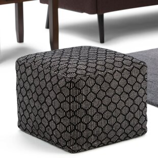 Melksham Pouf Ottoman by Wrought Studio