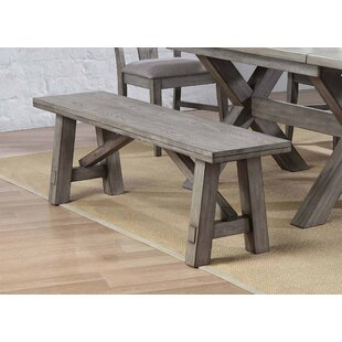 Vergara Wood Backless Bench by Ophelia & Co.