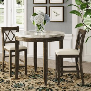 Clearmont 3 Piece Dining Set Three Posts