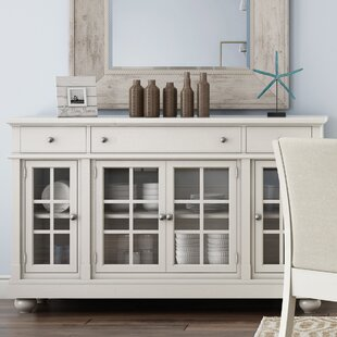 Sideboards buffet tables you 39 ll love wayfair for Sideboard glasfront