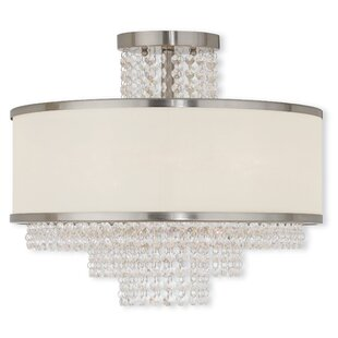 Mac 5-Light Semi-Flush Mount by House of Hampton