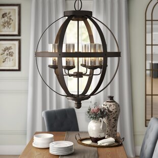 Donna 6-Light Shaded Chandelier