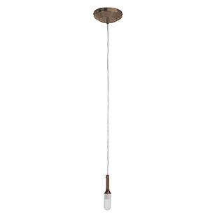 Nowlin 1-Light Bulb Pendant by Wrought Studio
