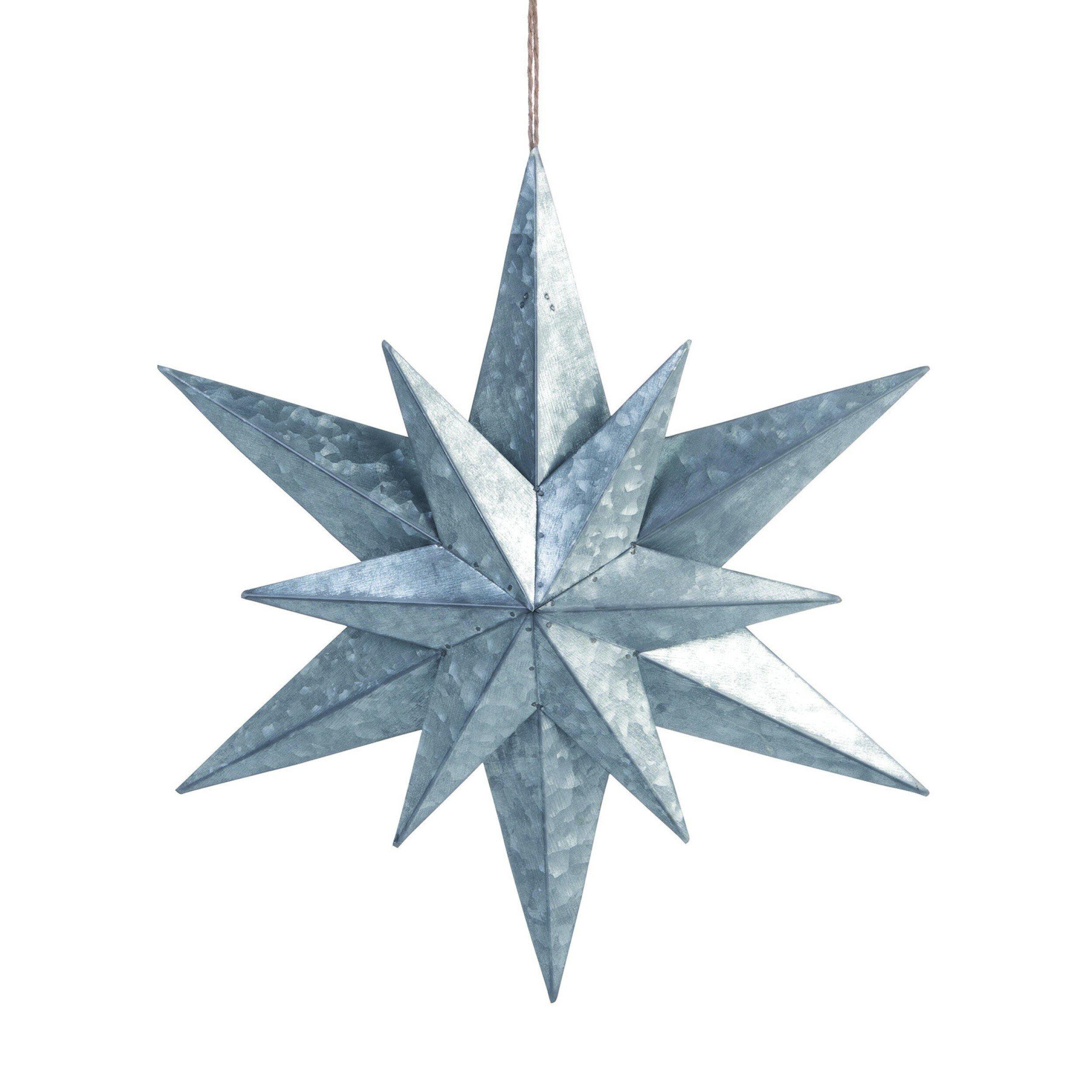 The Holiday Aisle Metal Medium Dimensional Star Holiday Shaped Ornament Wayfair