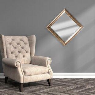 Savings Haddenham Square Framed Wall Mirror ByAlcott Hill
