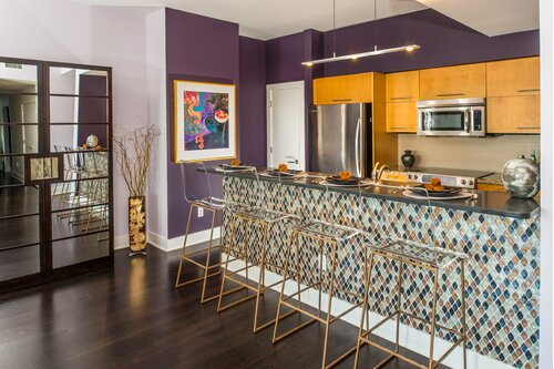 Purple Kitchen Design Ideas Wayfair