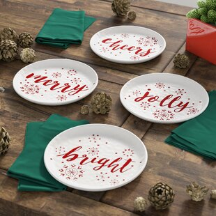 4 Piece Holiday Cheers 8.5