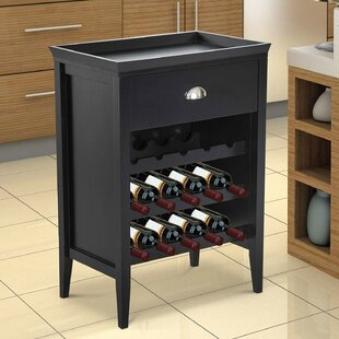 Chartier 15 Bottle Floor Wine Bottle Rack