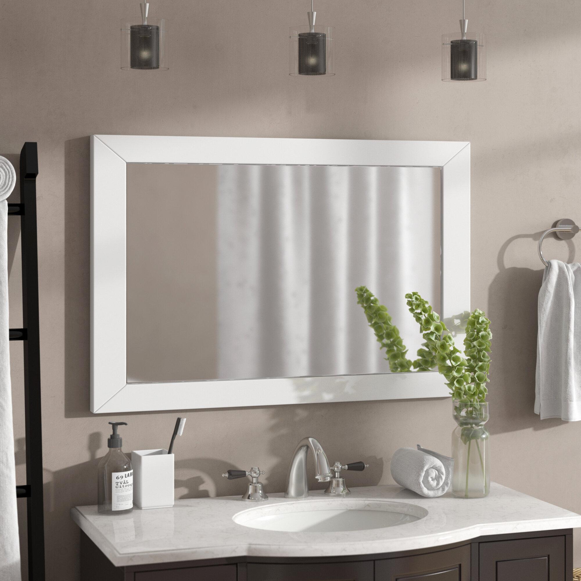 Latitude Run Azaira Bathroom Vanity Mirror Wayfair
