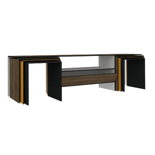 Reviews Geddes Modern TV Stand by Ebern Designs Reviews (2019) & Buyer's Guide