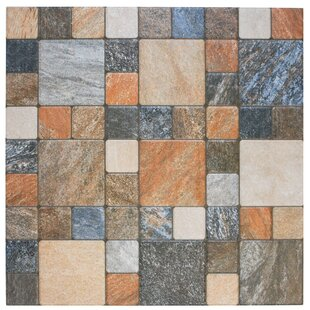 Porcelain Mosaic Tile in Por Rustico