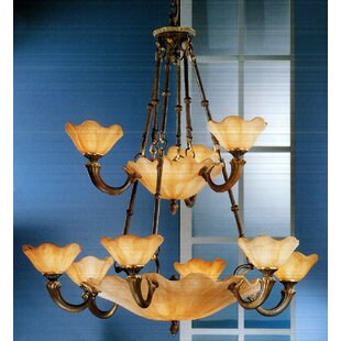 Classic Lighting Atlantis 16-Light Shaded Chandelier