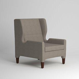 Renzo Wingback Chair Wayfair Custom Upholstery™