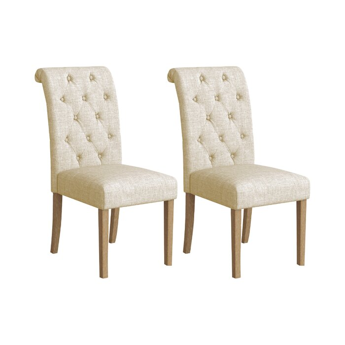 Terrific Charlotte Upholstered Dining Chair Machost Co Dining Chair Design Ideas Machostcouk