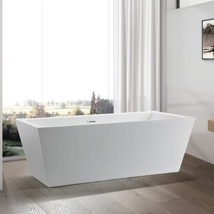 Affordable 59 x 30 Freestanding Soaking Bathtub ByVanity Art