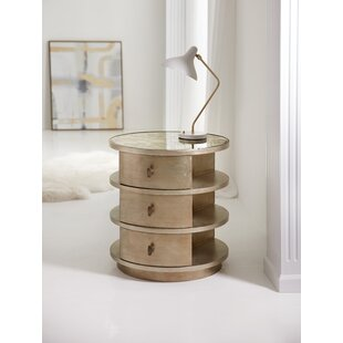 Melange End Table with Storage by Hooker ..