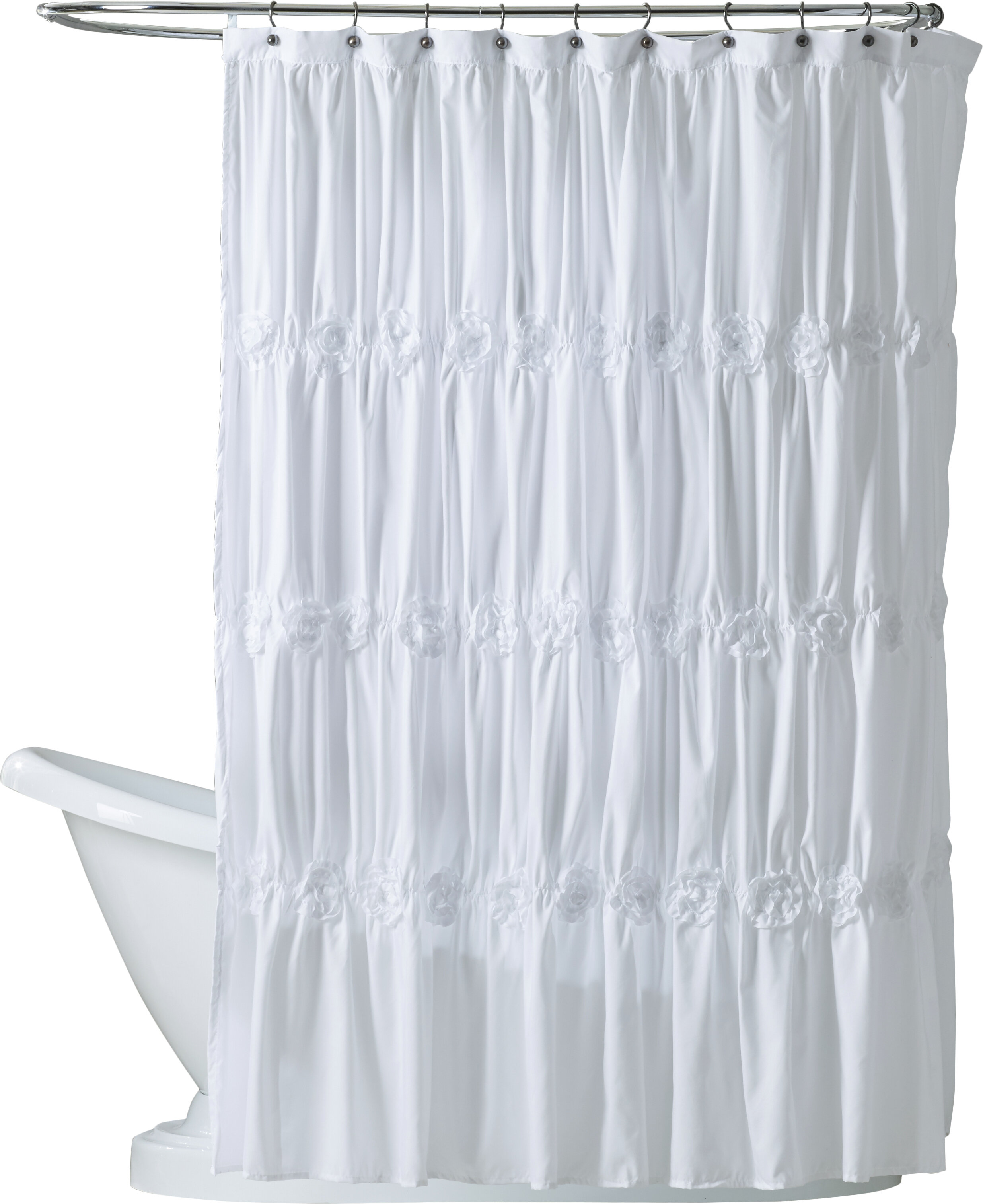 Lark Manor Wynne Single Shower Curtain Reviews
