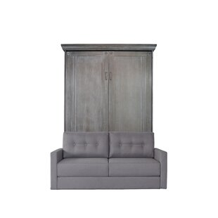 Cedarville Queen Upholstered Murphy Bed with Sofa