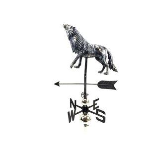 Chalfant Wolf Weathervane By Astoria Grand