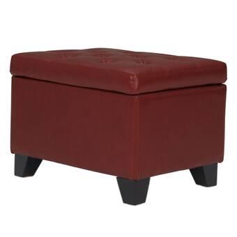 Wondrous Cohee Storage Ottoman Reviews Birch Lane Theyellowbook Wood Chair Design Ideas Theyellowbookinfo