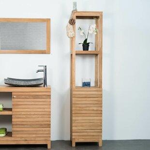 Leyburn 40cm X 180cm Corner Free-Standing Cabinet By Bay Isle Home