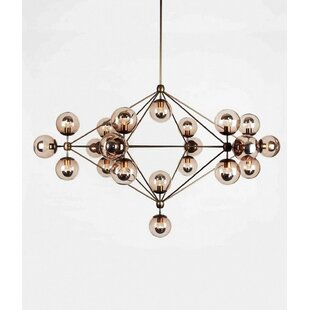 Brayden Studio Leib 21-Light Sputnik Chandelier