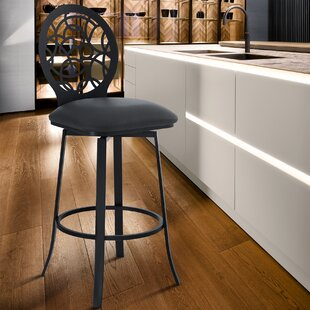 Lotus 26 Swivel Bar Stool Armen Living