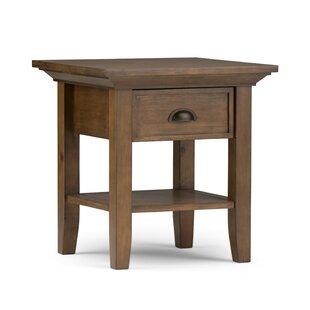 Find a Amatury End Table by Alcott Hill