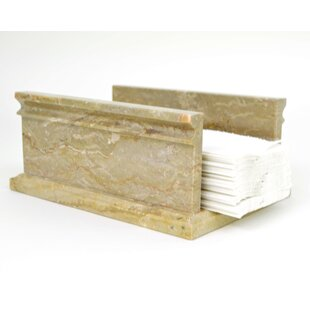 Nature Home Decor Sahara Beige Marble Freestanding Soap Dish