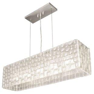 Fine Art Lamps Constructivism 5-Light Kitchen Island Pendant
