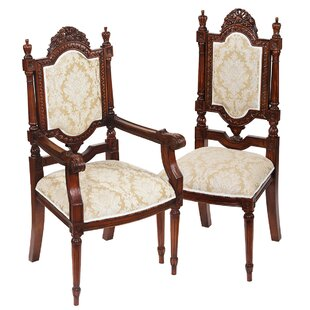 Salon Des Rosiers 2 Armchairs And 4 Side Chair Set by Design Toscano