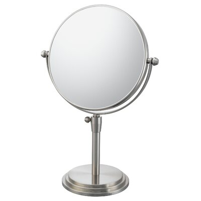 Mirror Image Classic Adjustable Vanity Mirror Mirror Image Finish: Brushed Nickel