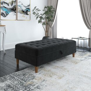 Delosreyes Tufted Storage Ottoman by Mercer41