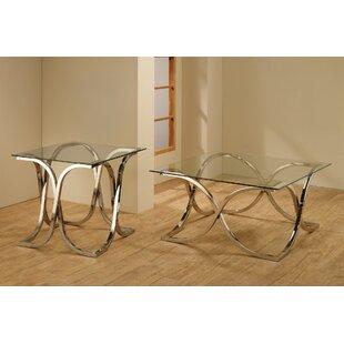 Wildon Home ? 2 Piece Coffee Table Set