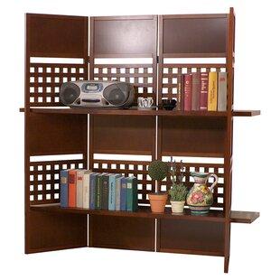 58.7 Cebu 4 Panel Shelf Room Divider by Stonegate Designs Furniture