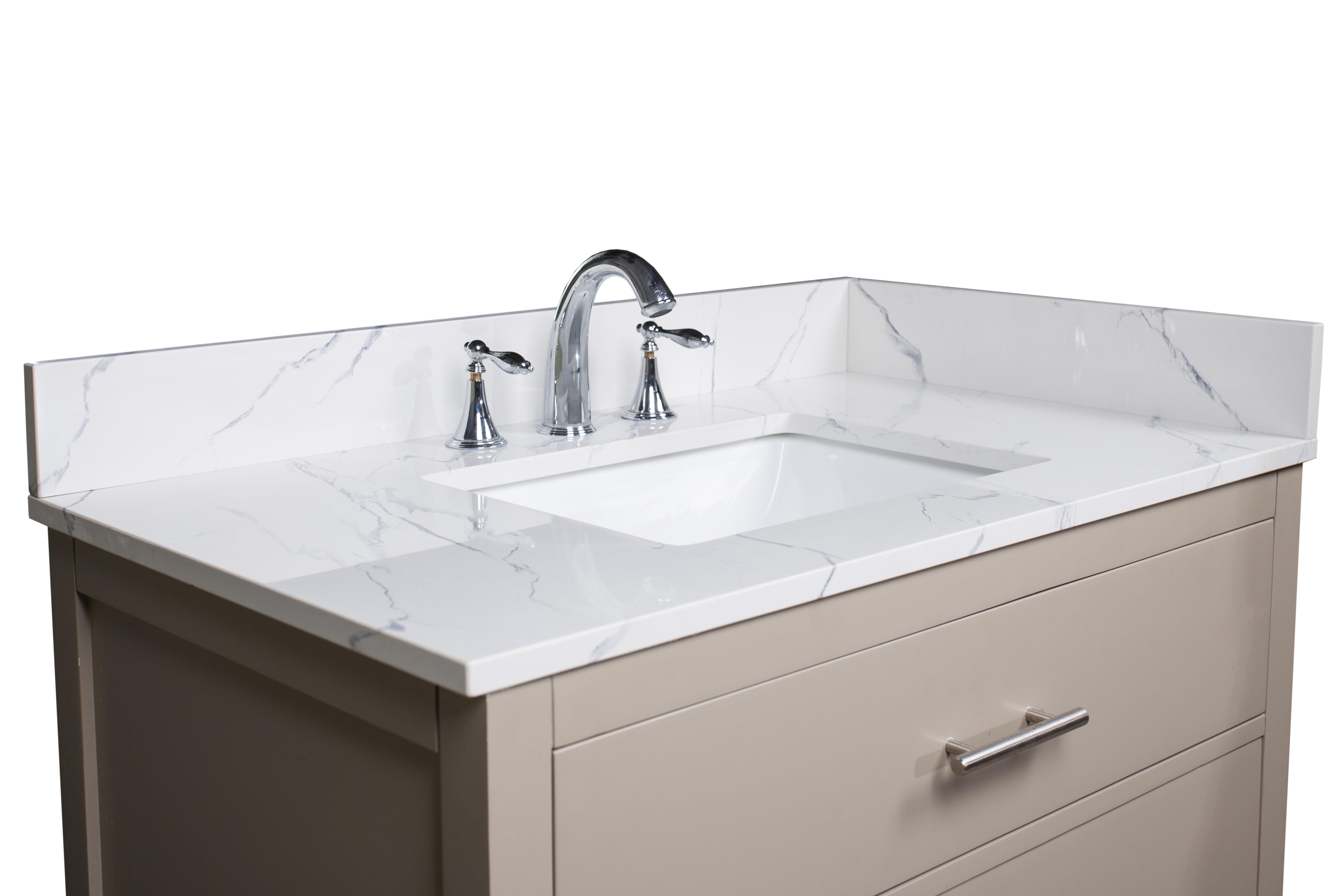 37 X 19 Bathroom Vanity Tops You Ll Love In 2021 Wayfair