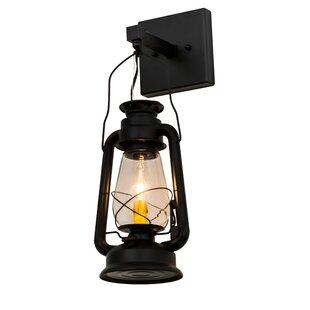 Yonker Outdoor Wall Lantern by Loon Peak